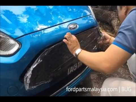 ST Grille Installation Guide For Fiesta MK7.5 - YouTube