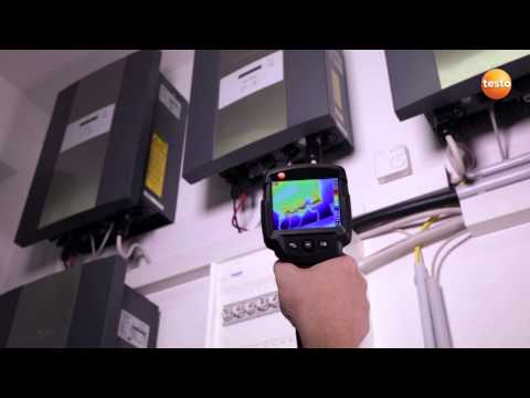 Electrical Inspections using Thermal Imaging - Testo 870