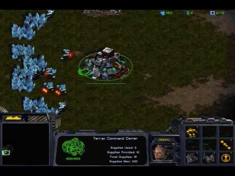 StarCraft: Worker Stack Tactic