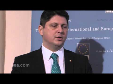 Minister Titus Corlatean on The Eastern Partnership -- What's in it for the EU?