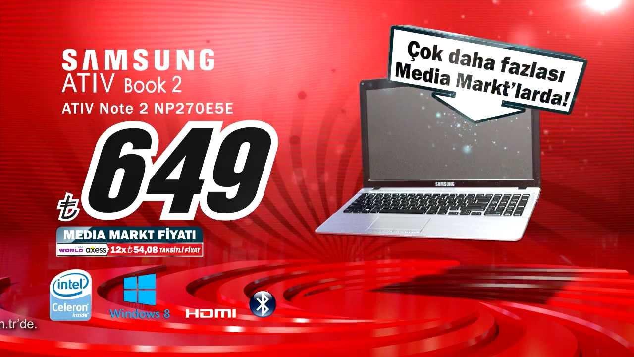 Media Markt 29 Agustos 1 Eylul Samsung Laptop Kampanyasi Youtube