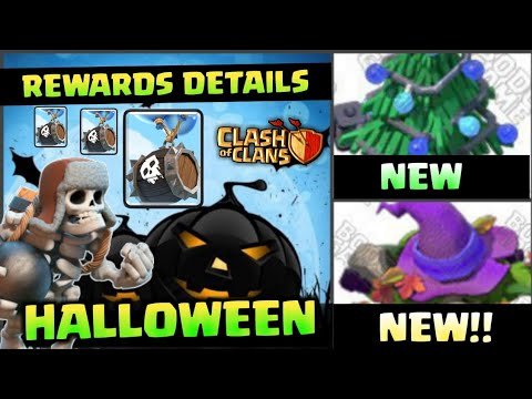 NEW HALLOWEEN UPDATE FULL DETAILS | CLASH OF CLANS | NEW TROOPS | NEW REWARDS