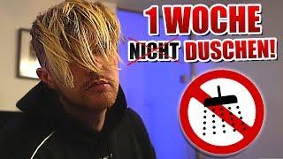 1 WOCHE nicht DUSCHEN & ZÄHNE PUTZEN! - Experiment