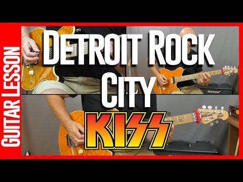 Detroit Rock City By Kiss - Guitar Lesson