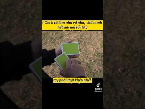 Thủ thuật xòe bài trên Tik Tok