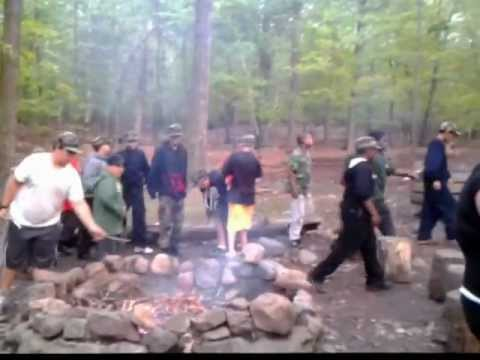 Troop 911 2012 Rifle Camp Drills thrills and Chills..