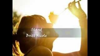 Stand - Britt Nicole 2012 - Legendado