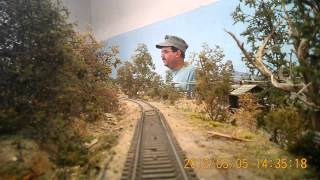 Cab Ride at Sun-Coast Model Railroad Club, Largo FL.