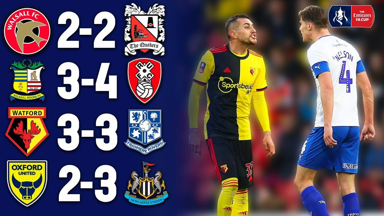 Most Exciting Games From Each Round This Season 💥Comebacks & Late Winners   Emirates FA Cup 19/2
