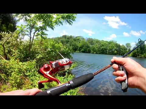 Fishing With Ugly Stik 5' Light Action Spinning Combo ~$25 Walmart