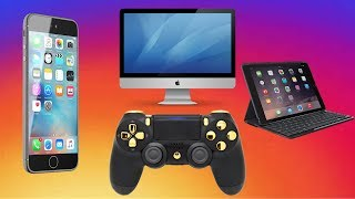 How to connect PS4 controller to iphone, ipad, computer