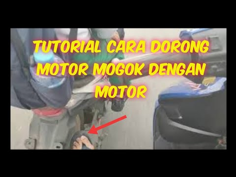tutorial-cara-dorong-motor-mogok-dengan-motor