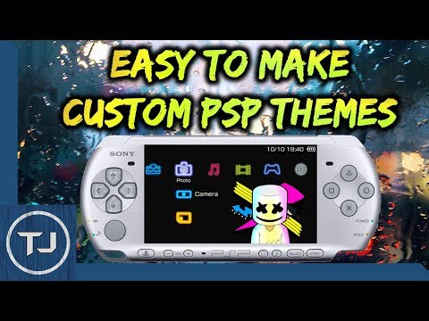 Easy To Make Custom PSP Themes! (Awesome Looking Themes)