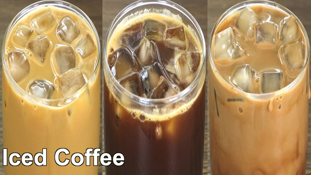 Download 3 Easy & Quick Iced Coffee recipe   How to make Iced coffee at home