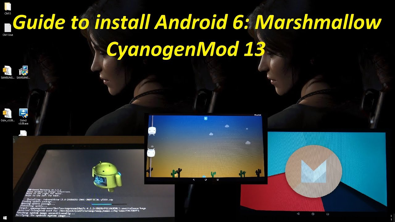 How to install Android 6 0 Marshmallow - CyanogenMod 13 on Samsung Galaxy  Tab 2