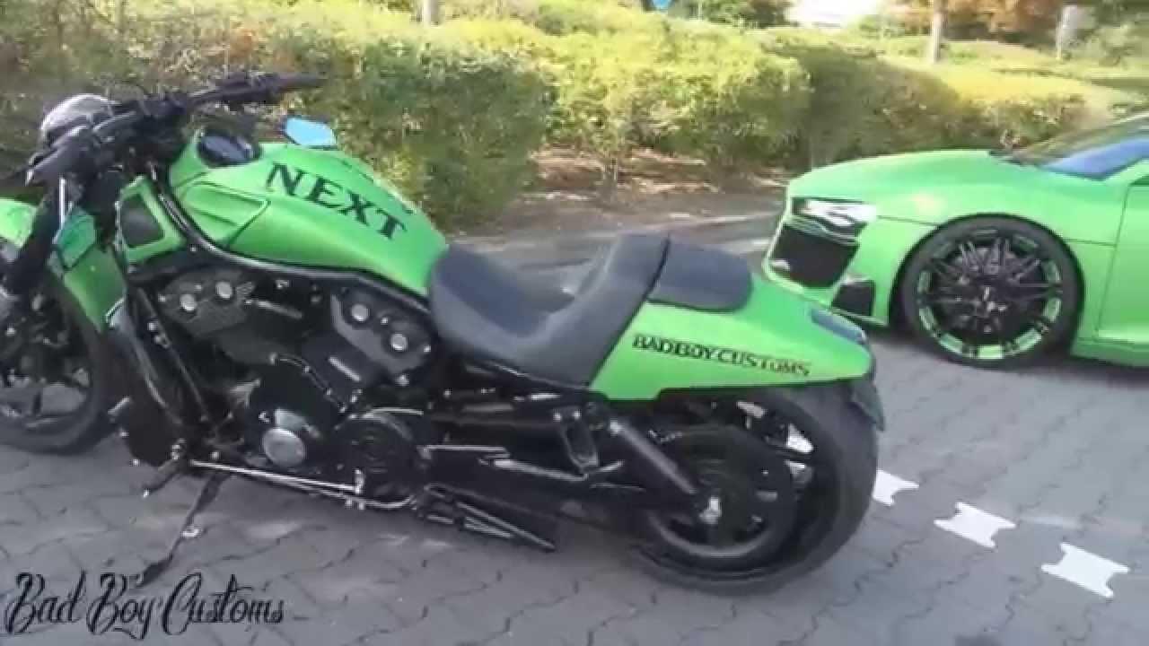 "Harley Davidson 1250 Night Rod Special Vrscdx 2015: Harley Davidson Custombike ""NEXT Green"" Night Rod Special"