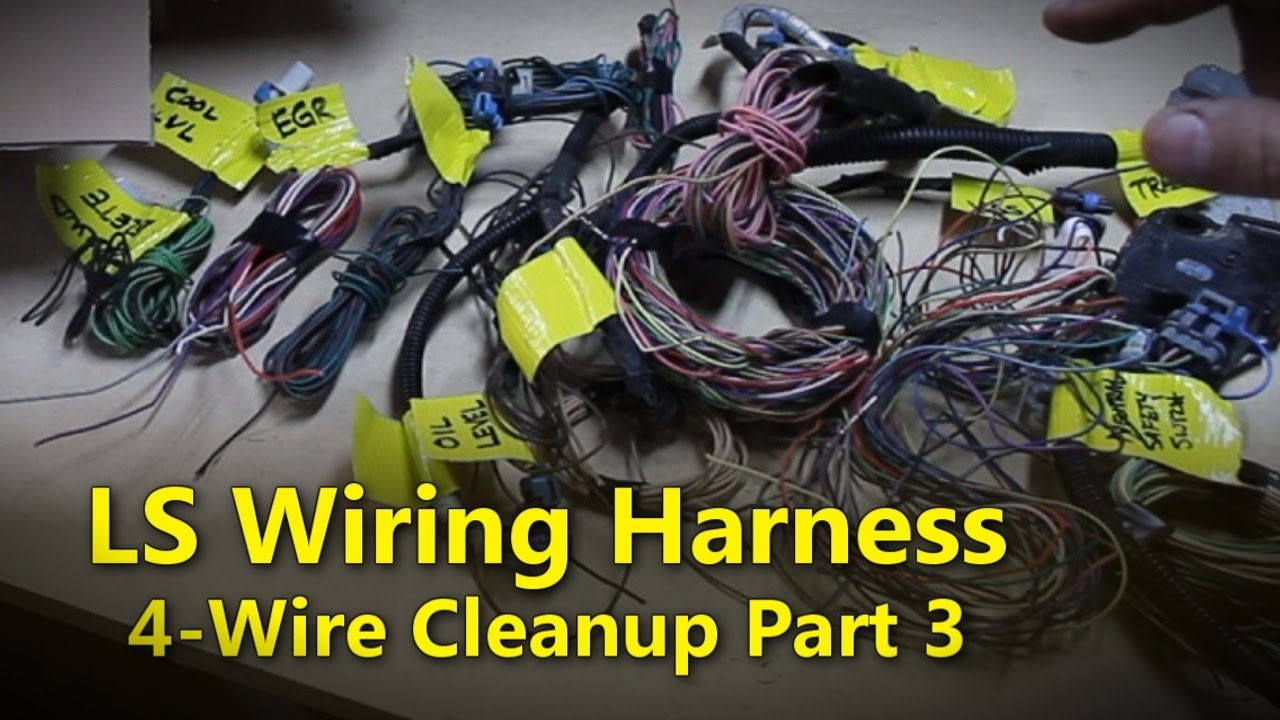 hight resolution of ls wiring harness part 3 project rowdy ep015