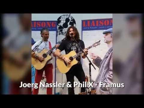 Video: Bon Jovi Gitarrist PhilX & Joerg Nassler spontan auf der Musikmesse Frankfurt/Main
