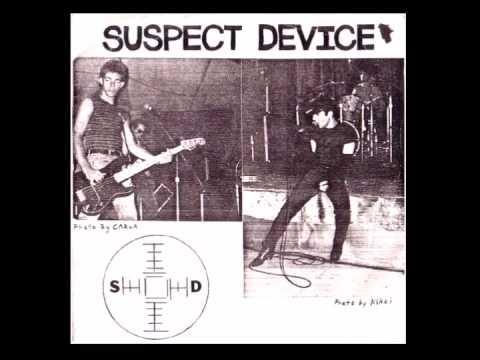 Suspect Device - The Image Has Cracked/Kill Ugly Radio [7''][1982]
