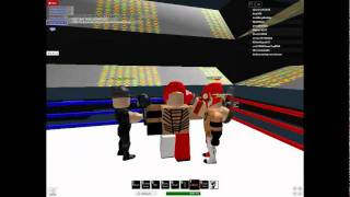ROBLOX wwe raw vs smackdown