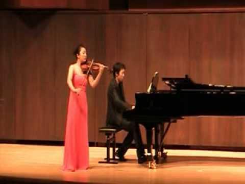 Jisoo Kim Franck Violin Sonata in A (1st mov)