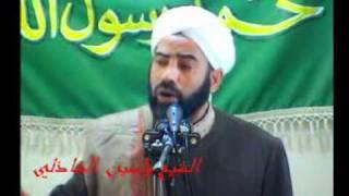 خطبة الجمعة للشيخ ياسين حسين الشاذلي في كركوك