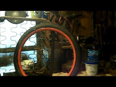 Ни когда не выбрасывайте старые колёса от велосипеда