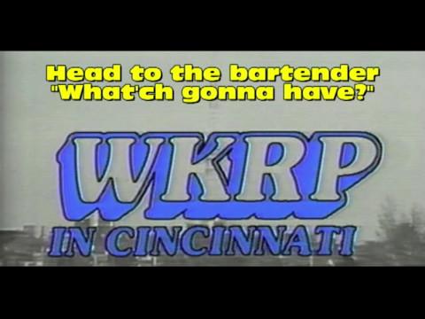 WKRP in Cincinnati closing credits theme song lyrics - REAL LYRICS, NO NONSENSE