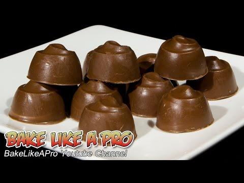 Nutella Filled Milk Chocolates Recipe