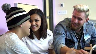 DWTS Finalists visit Children's Hospital Los Angeles