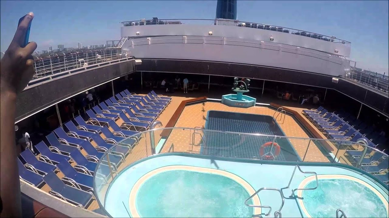 Carnival Glory Aug 2015 Episode 2 Exploring The Ship
