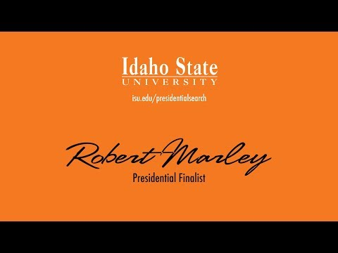 Robert Marley - Presidential Finalist - Faculty and Staff Forum