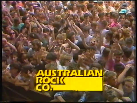 Australian Crawl - Reckless (Priority One Concert 1985)