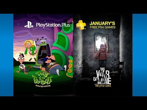 PlayStation Plus - Free Games Lineup January 2017 | PS4