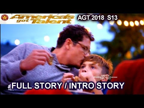 Michael Ketterer & His Children FULL INTRO STORY QuarterFinals 3  America's Got Talent 2018  AGT