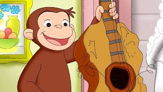 Curious George 🐵 The Uptown Band 🐵Compilation🐵 HD 🐵 Cartoons For Children