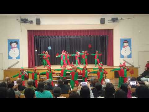 """SANTA CLAUS IS COMING TO TOWN"" Baldwin Hills Elementary"