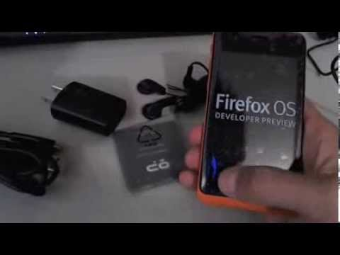 Unboxing Geeksphone Keon - Mozilla Firefox OS