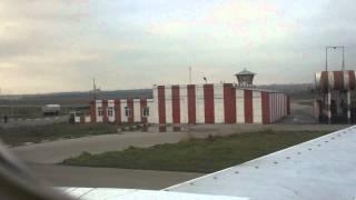 Departure from Heydar Aliyev Airport in Baku
