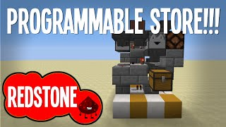 Minecraft: Programmable Store System