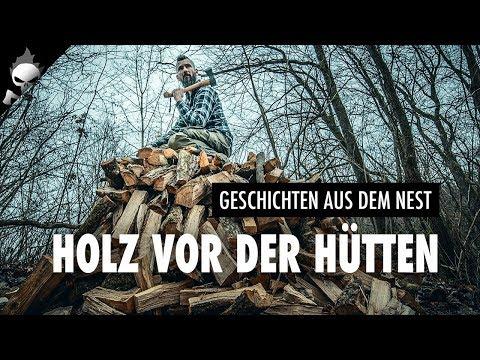 Holz vor der Hütten // S01E03 LOGBUCH PIRATENNEST