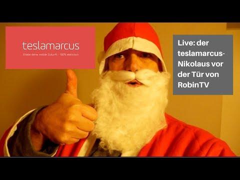Live: Der Nikolaus wartet vor der Tür bei Robin TV