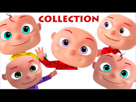 Thumbnail: Five Little Babies Collection | Nursery Rhymes Collection | Cartoon Animation Kids Songs