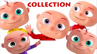 Five Little Babies Collection | Nursery Rhymes Collection | Cartoon Animation Kids Songs