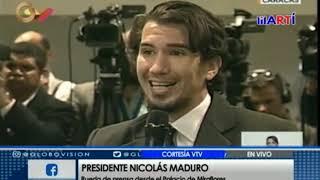 Maduro molesto con periodista por indagar sobre bomberos presos en Venezuela