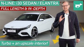 Hyundai i30 Sedan N-Line (Elantra N-Line) 2021 review walkaround   Chasing Cars