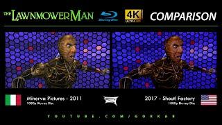 Blu-ray Versus - The Lawnmower Man / Le Cobaye (2011 vs 2017)