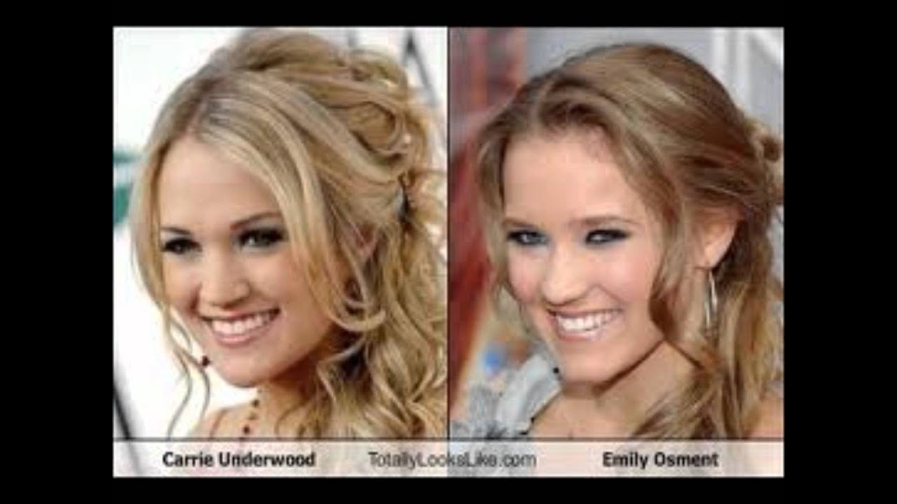 Emily Osment Look Alike Carrie UnderWood - YouTube