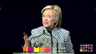 Hillary Clinton - Religious beliefs have to be changed