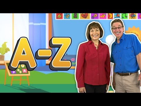 I'm So Excited To Read And Write | A - Z | Letter Formation | Jack Hartmann And Jan Richardson
